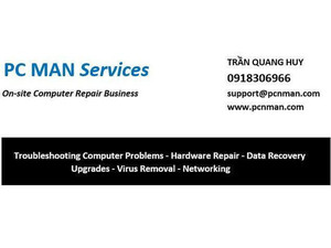 Pc Man Services - Computer shops, sales & repairs