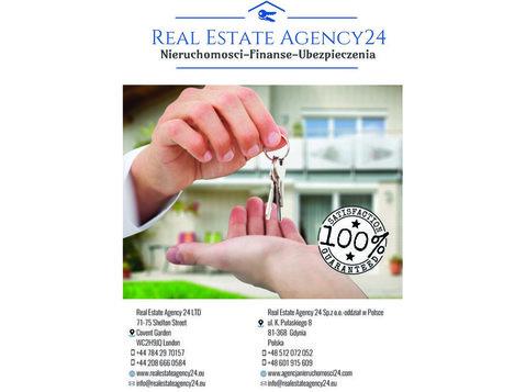 Real Estate Agency24 Ltd -nieruchomosci Londyn - - Portale nieruchomości