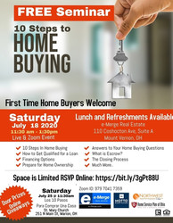10 Steps to Home Buying
