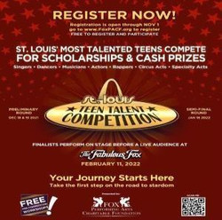 12th Annual St. Louis Teen Talent Competition Registration