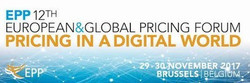 12th Epp Global & European Pricing Forum, 2017 Brussels