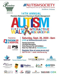 14th Annual Autism Virtual Walk and Interactive Resource Fair