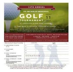 14th annual Father Jim Nibler Memorial Golf Tournament