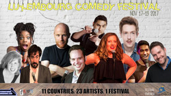 2017 Luxembourg Comedy Festival - Oct 28, Nov 17-19