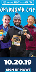2019 Allstate Hot Chocolate 15k/5k Oklahoma City