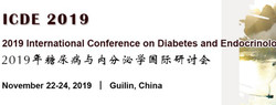 2019 International Conference on Diabetes and Endocrinology (icde 2019)