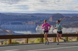 Lake Powell Half Marathon, October 2019