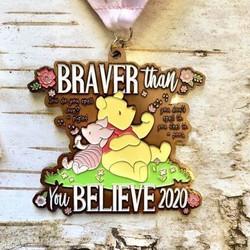 2020 Braver Than You Believe 1m, 5k, 10k, 13.1, 26.2