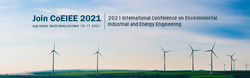 2021 International Conference on Environmental, Industrial and Energy Engineering (CoEIEE 2021)