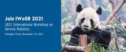 2021 International Workshop on Service Robotics (IWoSR 2021)