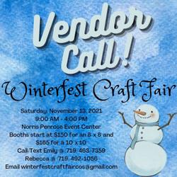 2021 Winterfest Craft and Vendor Fair