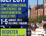 22nd International Conference on Environmental Indicators