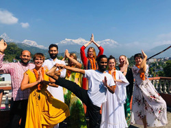 24 Days 200 Hours Yoga Teacher Training in Pokhara, Nepal