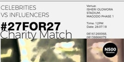 #27for27charitymatch