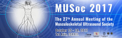27th Annual Meeting of the Musculoskeletal Ultrasound Society (MUSoc2017)