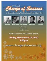 """2nd Annual - """"Change of Seasons"""" Holiday Concert"""