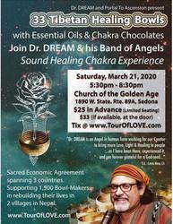 33 Tibetan Healing Bowls, Essential Oils & Chocolate in Sedona, Az