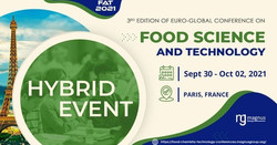 3rd Edition of Euro-Global Conference on Food Science and Technology