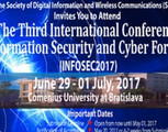 3rd International Conference on Information Security & Cyber Forensics