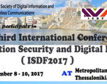 3rd Intl Conference on Information Security and Digital Forensics