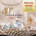 40th MidEast Watch and Jewellery Show 2016