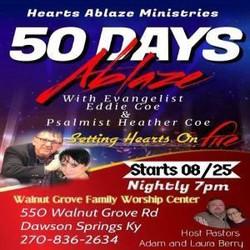 50 Days Ablaze Revival with Hearts Ablaze Ministries