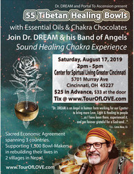55 Tibetan Healing Bowls, Essential Oils And Chocolate in Cincinnati, Oh