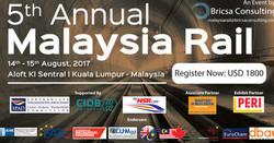5th Annual Malaysia Rail