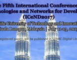 5th Int'l Conference on e-Technologies & Networks for Development