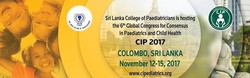 6th Global Congress for Consensus in Paediatrics and Child Health-CIP2017