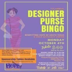 7th Annual Designer Purse Bingo