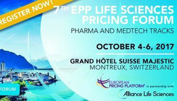 7th Epp Life Science Pricing Forum, 2017 Montreux