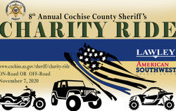 8th Annual Cochise County Sheriff's Charity Ride