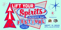 9/11 Lift Your Spirits Festival - Spirit Tasting and Steven Briggs Comedy Show