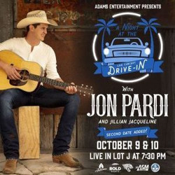 A Night at the Drive-In with Jon Pardi and Friends Lot J, adjacent to Daily's Place