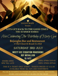 A Summer Soiree at Bojangles – Let's bring back the good times to Chingford