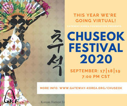 A Virtual Celebration of the Korean Harvest Festival (Chuseok)