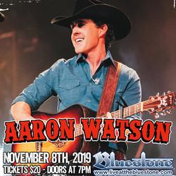 Aaron Watson Live November 8th
