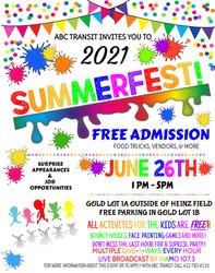 Abc Transit's 2021 Summerfest