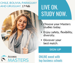 Access Masters Online event Chile, Bolivia, Paraguay and Uruguay