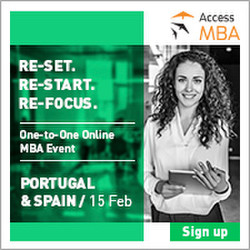 Access Mba Online event Portugal & Spain - 15 February