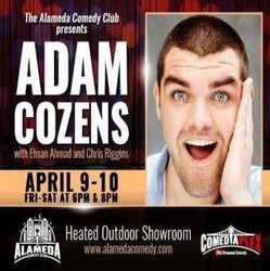 Adam Cozens - Live at the Alameda Comedy Club - Apr 9-10