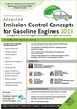 Advanced Emission Control Concepts for Gasoline Engines 2016