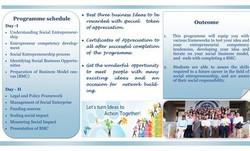 Advanced Training Programme on Social Entrepreneurship, Sept. 23-24, 2017