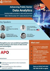 Advancing Public Sector Data Analytics
