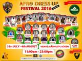 Afro Dress Up Festival 2016 Denmark