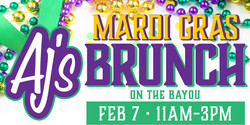 Aj's Mardi Gras Brunch on the Bayou