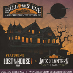 All Hallows' Eve at Winchester Mystery House