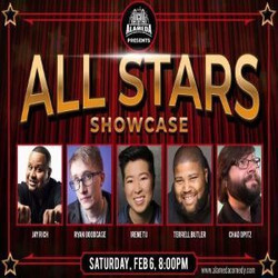 All Star Showcase at the Alameda Comedy Club - Friday Feb 6th at 8pm