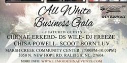 All White Business Gala by Lemoi Desina Events
